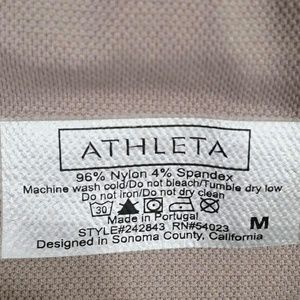 2c6dd87fa8110 Athleta Pants | Shimmer Striped Seamless Tights Fox Taupe | Poshmark